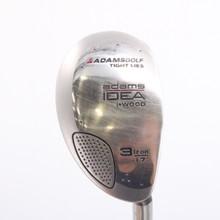Adams Idea i-Wood 3 Iron Hybrid Aldila Graphite Senior Flex Right-Handed 78060C