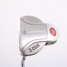Odyssey White Steel 2-Ball Putter 35 Inches Steel Left-Handed 78144D