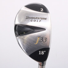 Bridgestone J33 2 Hybrid 18 Degrees Aldila NV Regular Flex Right-Handed 78099C
