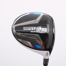 2020 TaylorMade SIM Max D 3 Wood 16 Degrees UST Helium F2 Senior Flex 78262G