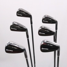 TaylorMade P790 Black Iron Set 5-P AMT Tour White R300 Steel Regular Flex 78416D
