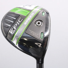 2021 Callaway EPIC Speed 4 Wood 16.5 Deg HZRDUS Smoke iM10 Regular Flex 78426D