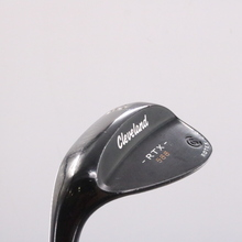 Cleveland 588 RTX 2.0 Black Satin Wedge 60.10 Dynamic Gold Left-Handed 78658C