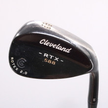 Cleveland 588 RTX 2.0 Black Satin Wedge 58 Degrees 58.10 Dynamic Gold 79416J