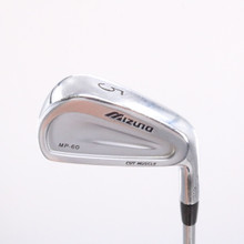 Mizuno MP-60 Cut Muscle Individual 5 Iron Dynamic Gold S300 Steel Shaft 79484B