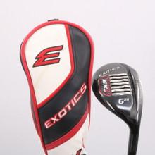 Tour Edge Exotics EX9 6 Hybrid 28 Deg Graphite F2 Senior Flex Headcover 79642J