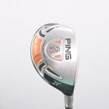 PING G10 4 Hybrid 21 Degrees Graphite TFC 129 H Regular Flex Right-Handed 79525B
