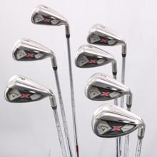 Callaway X Hot 6-P,S,L Iron Set KBS Steel Stiff Flex Right-Handed 79034G