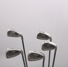 Ping I3+ 7-W,S Iron Set Red Dot +1 Inch Graphite Ladies Flex Right-Handed 79675D