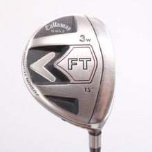 Callaway FT 3 Wood 15 Degrees Fujikura Graphite R2 Senior Flex Right-Hand 79813J
