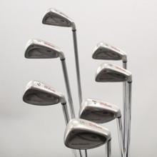Wilson Fat Shaft 3-6,9,P,S Iron Set Steel Shaft Senior Flex Right-Hand 81551J