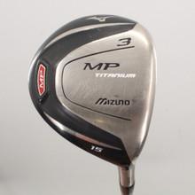 Mizuno MP Titanium 3 Fairway Wood 15 Degrees Graphite Shaft Stiff Flex 82060J