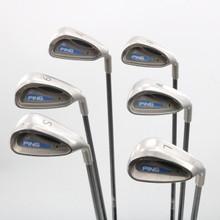 Ping G2 Iron Set 7-W,S,L Black Dot Graphite Shaft Regular Flex Right-Hand 81475G