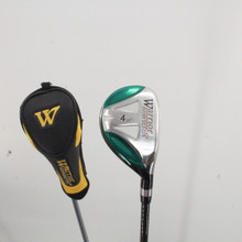 Warrior Golf Tomahawk 4 Hybrid 22 Degrees Graphite Uniflex Right-Handed 82905B