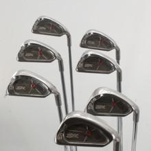 Ping ISI 4-W Iron Set Red Dot Steel True Temper Stiff Flex Right-Hand 82806J