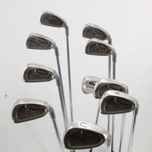 Ping I3 O-Size Iron Set 3-W,L,U,S Blue Dot Steel Cushin JZ Regular Flex 83408J