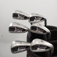 Ping G20 Iron Set 5-W Green Dot Steel Shaft CFS Stiff Flex Right-Handed 83694G