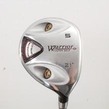 Warrior Golf 5 Fairway Wood 21 Degree Graphite Shaft Uniflex Right-Handed 84059H