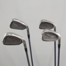 Lady Cobra Oversize Iron Set 8-PW,SW Graphite Ladies Flex Right-Handed 84112J