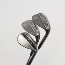 Adams Golf Puglielli Black Wedge Set 52,56,60 Dynamic Gold Steel 84734A