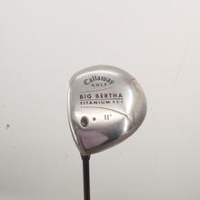 Callaway Big Bertha Titanium 454 Driver 11 deg Gems Graphite Ladies LH 85434B