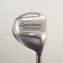 TaylorMade 200 Steel 3 Fairway Wood Graphite Senior Lite Flex Right-Hand 85289H