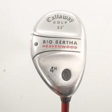 Callaway Big Bertha Heavenwood 4 Hybrid 23 Degrees Graphite Regular Flex 84899J