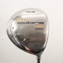 King Cobra SS 380 Driver 10.5 Degrees Graphite Shaft Stiff Right-Hand 85510H