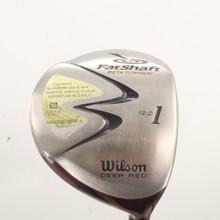 Wilson Deep Red Driver 12 Degrees FatShaft Grafalloy Regular Flex 85511H