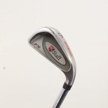 Wilson Fat Shaft Individual 6 Iron Steel Shaft Stiff Flex Right-Handed 85787A