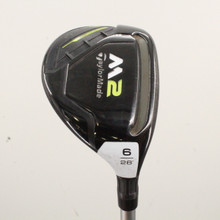 TaylorMade M2 Rescue 6 Hybrid 28 Degrees REAX 45 Ladies Flex Right-Handed 86116J