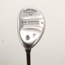 Callaway Big Bertha 5 Hybrid 26 Degrees Graphite Ladies Flex Left-Handed 86118J