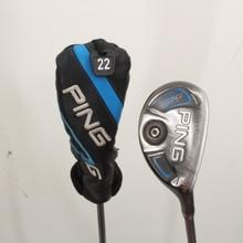 PING G 4 Hybrid 22 Degrees ALTA 70 Graphite Senior Flex Right-Handed 86081H