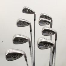 Ping G Iron Set 6-W,U,L,S Red Dot Steel N.S. Pro Regular Flex Right-Hand 86121J
