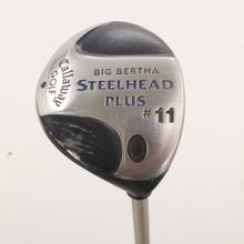 Callaway Steelhead Plus #11 Fairway Wood Graphite Gems Ladies Flex 86337H