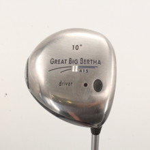Callaway Great Big Bertha II Driver 10 Degree Graphite Regular Flex 86322H