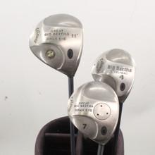 Callaway GBB Hawk Eye / Steelhead Wood Set 1,4,7 Graphite Senior Flex 86243G
