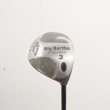Callaway Big Bertha Steelhead 3 Wood RCH 99 Senior Flex Right-Handed 86442A