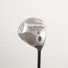 Callaway Big Bertha Steelhead 4 Wood RCH 99 Firm Stiff Flex Right-Handed 86445A