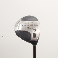 Callaway Big Bertha Steelhead Plus 3+ Wood Extra Stiff Flex Right-Handed 86446A