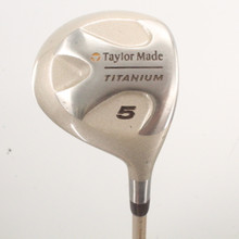 TaylorMade Titanium 5 Fairway Wood Bubble Shaft Ladies Flex 86504H