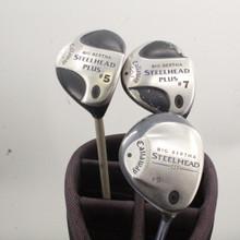 Callaway Big Bertha Steelhead III / Plus Wood Set 5,7,9 Graphite Ladies 86247G