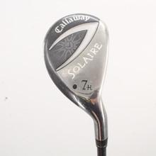 Callaway Golf Solaire 7 Hybrid Graphite H-55g Ladies Flex Right-Handed 86520H