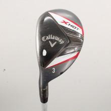 Callaway X Hot 3 Hybrid 19 Degree Graphite Shaft Regular Flex Left-Handed 86757H