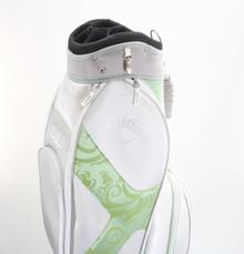 Women's Callaway Solaire Cart Golf Bag 9-Way Top / 7 Pockets Green/Gray 86961G