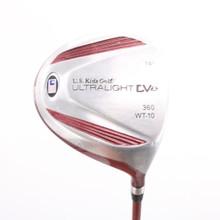"U.S. Kids Golf UL DV1 Driver 14 Degrees Graphite For 60"" Tall Junior 86965G"