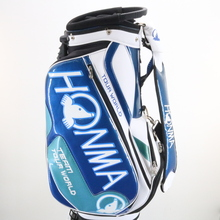 Japan Honma Team Tour World Golf Staff Bag 5-Way / 5 Pockets Blue/White 86971G