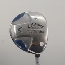 Callaway Big Bertha Fairway 7 Wood Graphite Ladies Flex Right-Handed 87410G