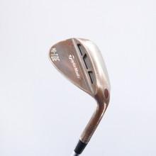 TaylorMade Milled Grind Hi-Toe Lob Wedge 60 Degrees 60.10 KBS Steel Shaft 87959A