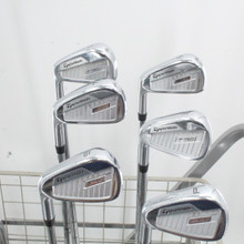 TaylorMade P760 Forged Iron Set 5-P True Temper Steel Stiff Left-Handed 87849G